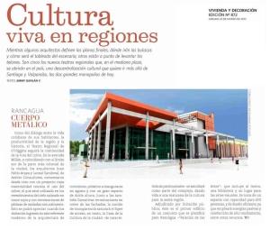 Publicación Vivienda y Decoración Diario El Mercurio 25/03/2013
